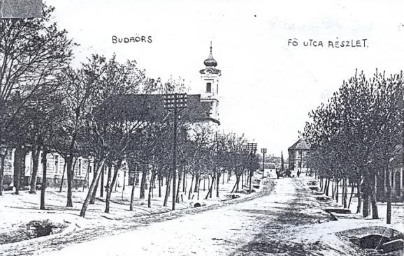Budaörs, Fő utca régen