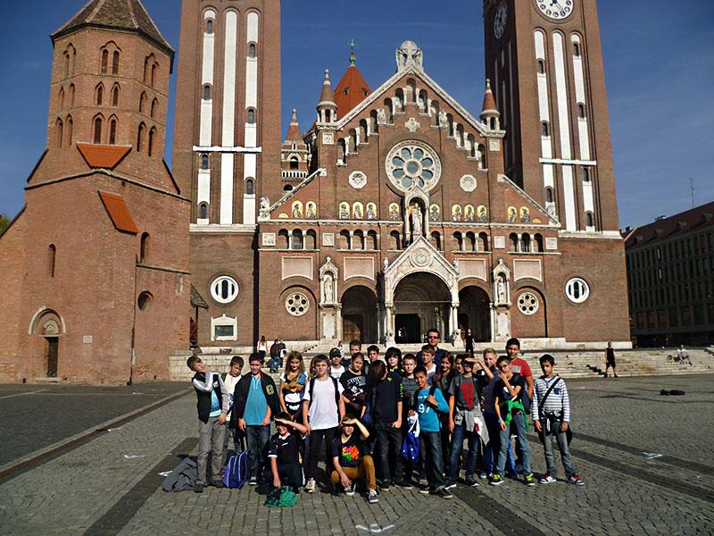 Tanulmányi kirándulás - a 6.i osztály Szegeden járt