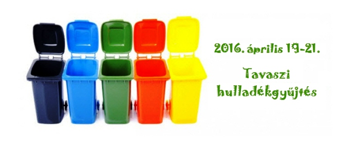Tavaszi hulladékgyűjtés
