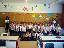 Tanényitó iskolai ünnepség