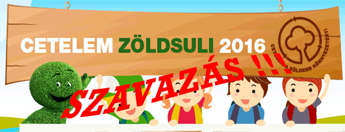 Cetelem Zöldsuli 2016 - szavazás