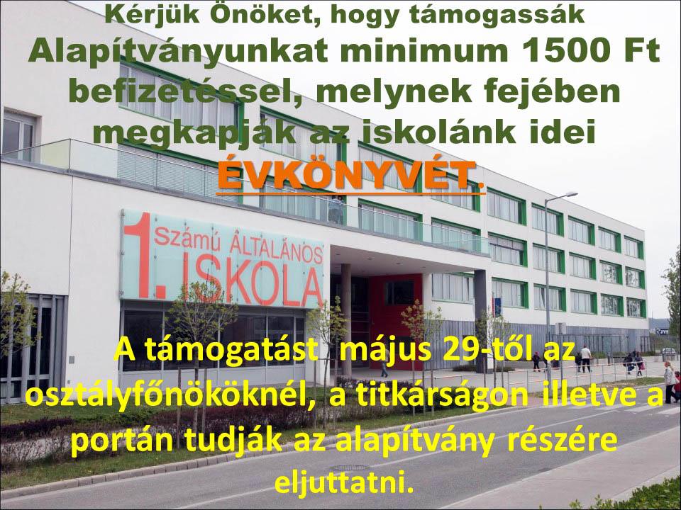 Évkönyv 2015-16 - Budaörsi 1. Számú Általános Iskola