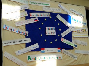 Megemlékezés Magyarország Európai Unióhoz csatlakozásának 10. évfordulójáról.